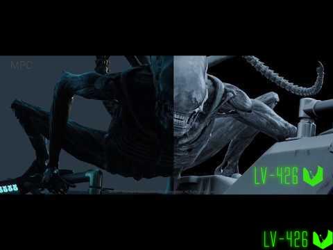 Чужой Завет VFX (спецэффекты)
