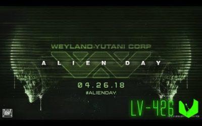 Alien Day 26.04.18 | День Чужих 2018