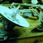 """Модель USCSS """"Ностромо"""" из фильма Ридли Скотта """"Чужой"""" 1979г."""