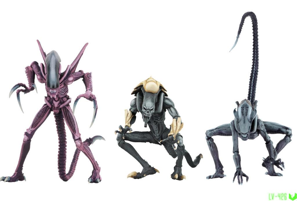 NECAвыпустит новые фигурки по кроссоверной игре 90х Alien vs Predator.