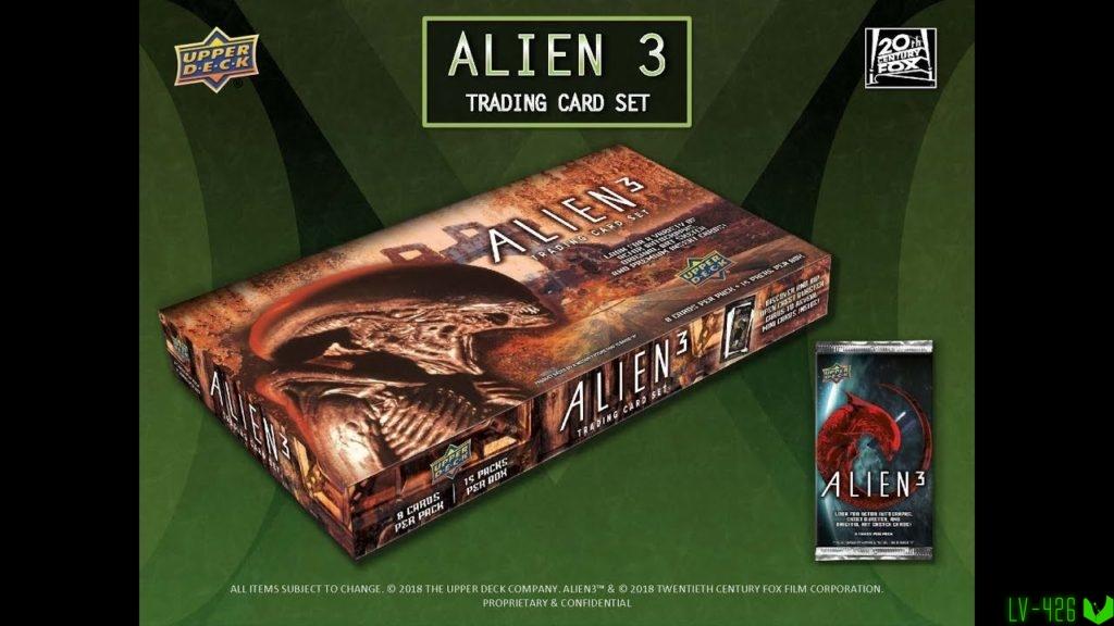 Alien 3 Trading Card Set