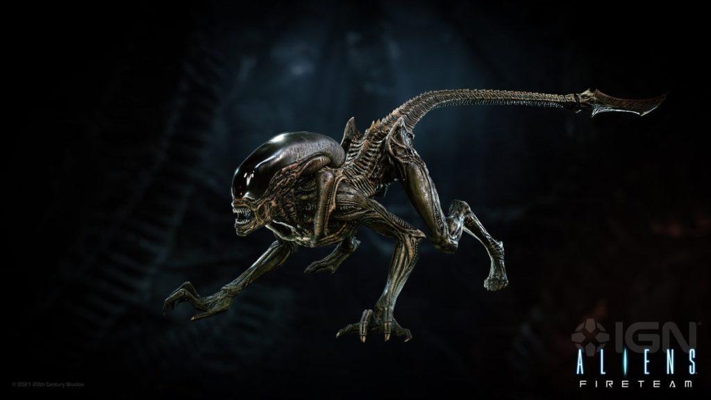 Первый взгляд на шесть типов ксеноморфов в игре Aliens: Fireteam!